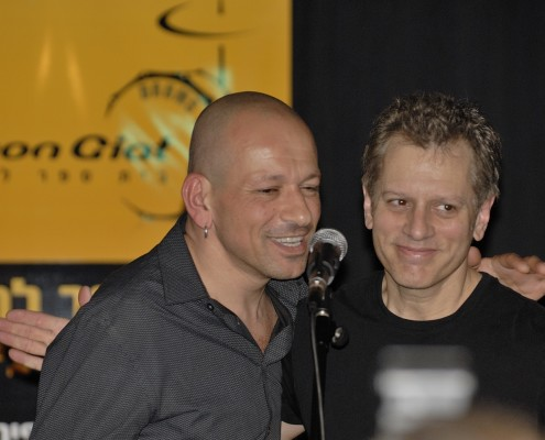 Doron with Dave Weckl